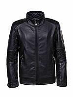 Стильные кожаные куртки для мальчиков Glo-story,разм 134-164 см, фото 1