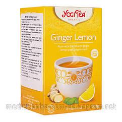 """Чай """"Имбирь и лимон"""", 17 пакетиков, YOGI TEA"""