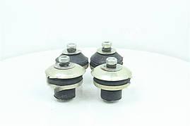 Ремкомплект крепления двигателя УАЗ 452, 31512, 3303, 3741 (10 наименований, полный к-кт на двигатель) (Дорожная карта). 469-1001020/25