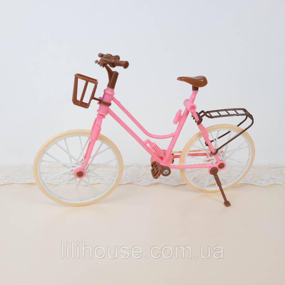 Велосипед пластиковый кукольный, 24*17 см
