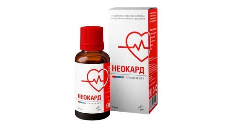 Неокард — капли от гипертонии