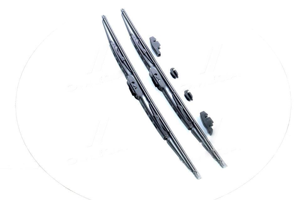 Щетка стеклоочистителя серия DOLPHIN ВАЗ 2110, 2111, 2112 500мм компл. 2шт. FB20 (FINWHALE). 2110-5205070