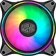 Набор вентиляторов Cooler Master MasterFan MF120 Halo 3in1 ARGB Sync+Wired ARGB Controller (MFL-B2DN-183PA-R1), 120х120х25 мм, 4pin, черный, фото 2