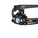 Ліхтар налобний Fenix HP30R чорний, фото 5