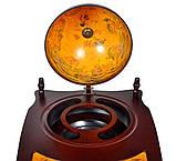 Глобус бар напольный со столиком из дерева, фото 5