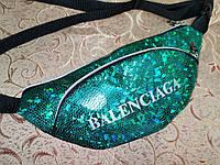 Сумка на пояс с лазерным BALENCIAGA барсетки сумка женский пояс Бананка только оптом, фото 1