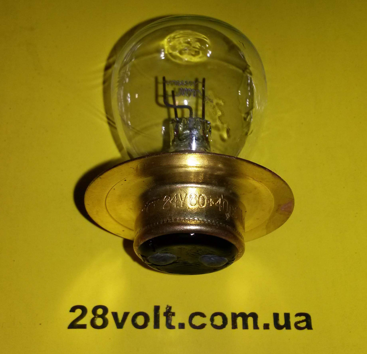 Лампа А 24-60+40 P42d/11