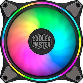 Вентилятор Cooler Master MasterFan MF120 Halo ARGB Sync (MFL-B2DN-18NPA-R1), 120х120х25 мм, 4pin, черный, фото 3
