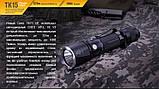 Ліхтар ручний Fenix TK15UE2016 чорний, фото 2