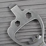 Міні-Мультитул NexTool BOTTLE OPENER Finger Bro KT5009B, фото 2