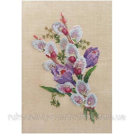 Набор для вышивания крестом ТМ Марья Искусница 06.002.29 Крокусы