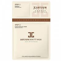 Тканевая маска с гиалуроновой кислотой и коллагеном Jayjun Skin Fit Mask, фото 1