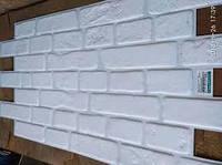 Стеновые декоративные панели ПВХ  Регул Кирпич «Ретро белый» 959х481мм от производителя