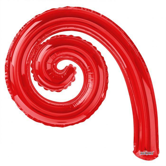 """К 14"""" Завитушка Спиральная Kurly Spiral Red"""