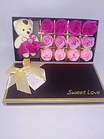 Набор Нежно-розовый + игрушка