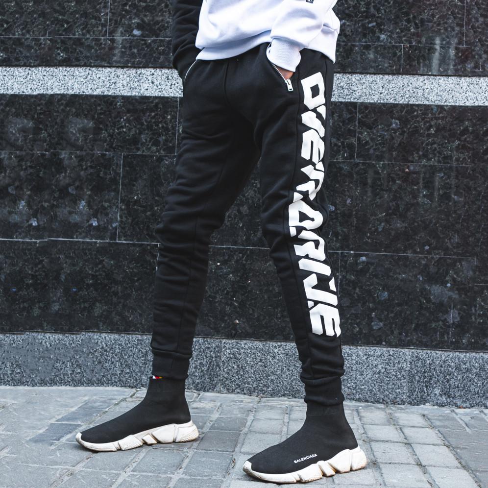 Спортивные штаны Пушка Огонь Overdrive черные