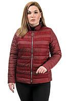 Женская легкая куртка с гипюром