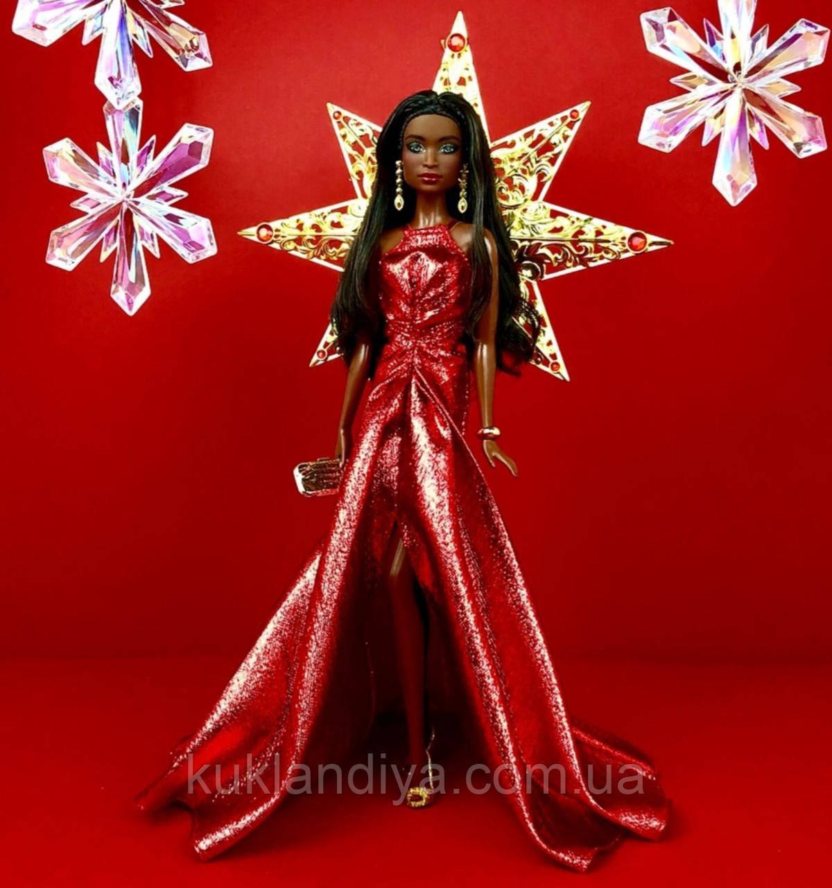 Колекційна лялька Барбі Ніккі Святкова - 2017 Holiday Barbie Nikki