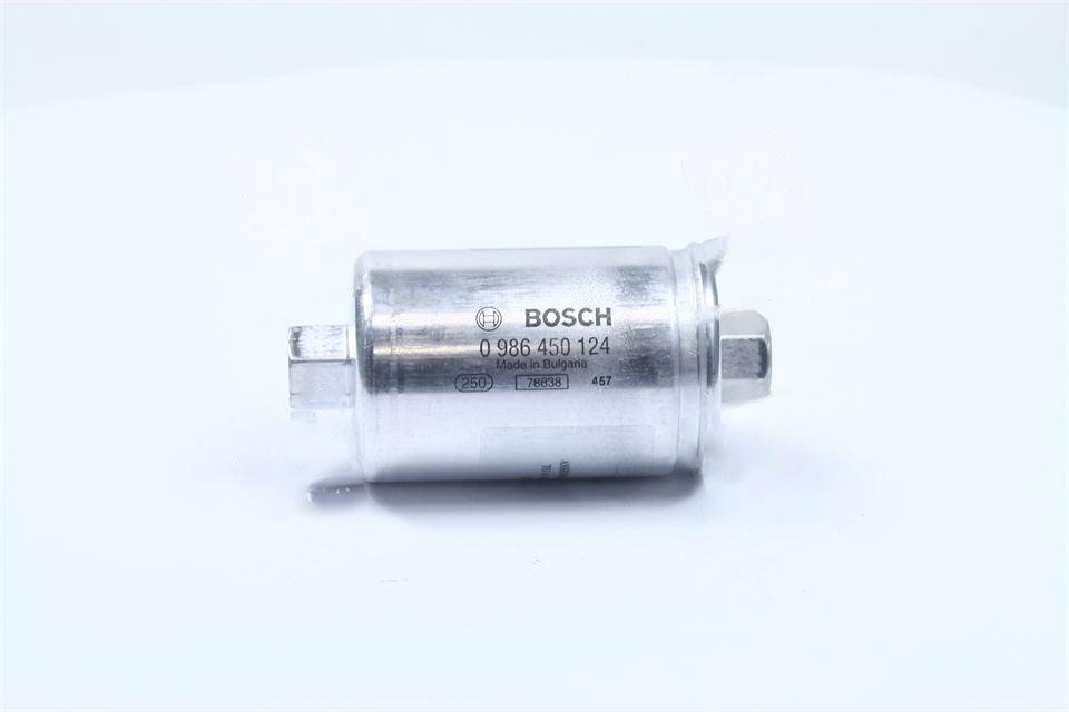 Фильтр топливный бензиновый ВАЗ 2108, 2109, 2113, 2114, 2115 инжектор (Bosch). 0 986 450 124