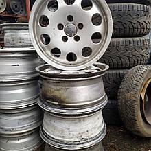 Алюминиевые диски, титанки AUDI A6C5 R16 7J ET45 5x112.