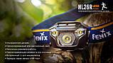 Ліхтар налобний Fenix HL26R чорний, фото 7