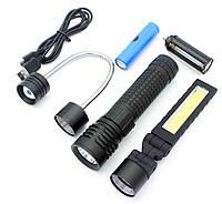 Тактичний ліхтар акумуляторний Police XML T6 (t190)
