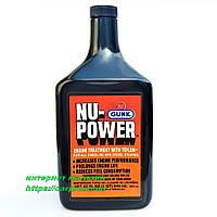 Присадка в двигатель на основе тефлона GUNK Nu-Power Engine Treatment with PTFE 946ml., фото 1