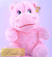 Мягкая игрушка Бегемот (сердце бьется)  8372-30