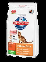 Корм для котов Hills SP Feline Adult Optimal Care Rabbit 10 кг хиллс для взрослых кошек с кроликом