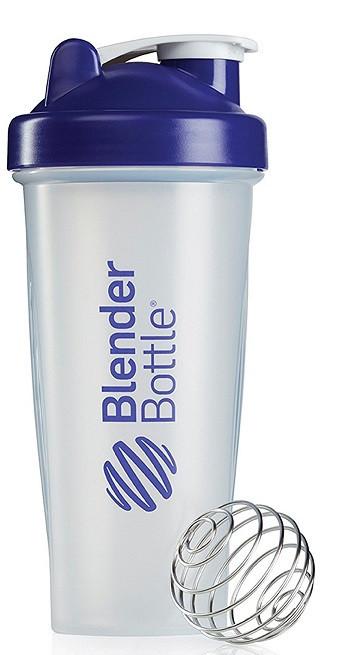 Шейкер спортивный BlenderBottle Classic 28oz/820ml прозрачный/фиолетовый (ORIGINAL)