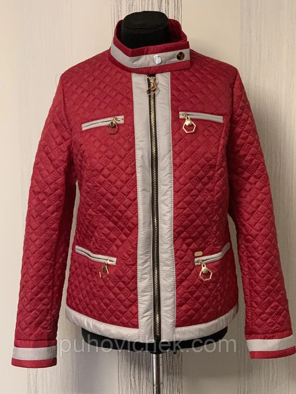 Стильная курточка женская весенняя интернет магазин размеры 46-62