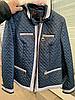 Стильная курточка женская весенняя интернет магазин размеры 46-62, фото 8