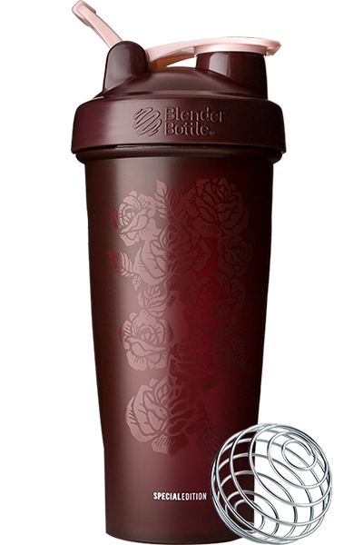 Шейкер спортивный BlenderBottle Classic Loop 28oz/820ml Spec Edition Amour Roses (ORIGINAL)