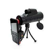 🔝 Монокуляр Панда для смартфона, Panda monocular 35х50, 10-ти кратный зум объектив для телефона   🎁%🚚