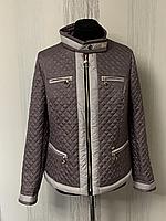 Легкая женская куртка пиджак демисезонная размеры 46-62
