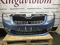 Бампер передній взборе Skoda Octavia A7