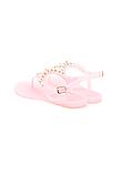 Босоножки женские розовые силикон Б322, фото 4