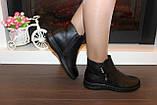 Черевики жіночі демісезонні чорні Д636, фото 6