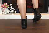 Черевики жіночі демісезонні чорні Д636, фото 7