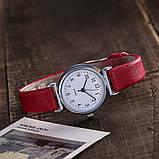 Женские наручные часы с красным ремешком код 536, фото 2