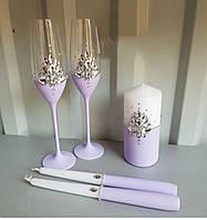 Свадебный набор аксессуаров на свадьбу.