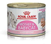 Royal Canin Mother & Babycat Корм (нежный мусс) для котят, беременных и кормящих кошек 12x195 г
