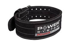 Пояс для пауэрлифтинга Power System Power Lifting PS-3800 XL Black