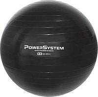 Мяч для фитнеса и гимнастики Power System PS-4012 Pro Gymball 65 cm Black