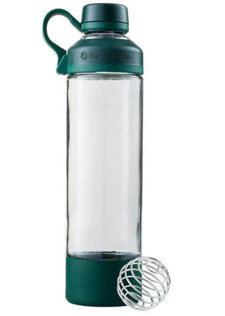 Спортивная бутылка-шейкер BlenderBottle Mantra Glass Green (СКЛО) 600мл (ORIGINAL)