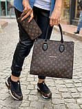 Набор: сумка, обувь, кошелек LV, фото 4