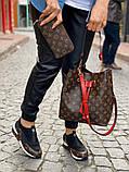 Набор: сумка, обувь, кошелек LV, фото 6
