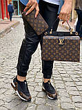 Набор: сумка, обувь, кошелек LV, фото 5