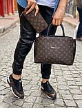 Набор: сумка, обувь, кошелек LV, фото 3