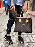Набор: сумка, обувь, кошелек LV, фото 9